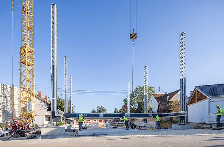 اولین ساختمان پرینت سه بعدی در آلمان