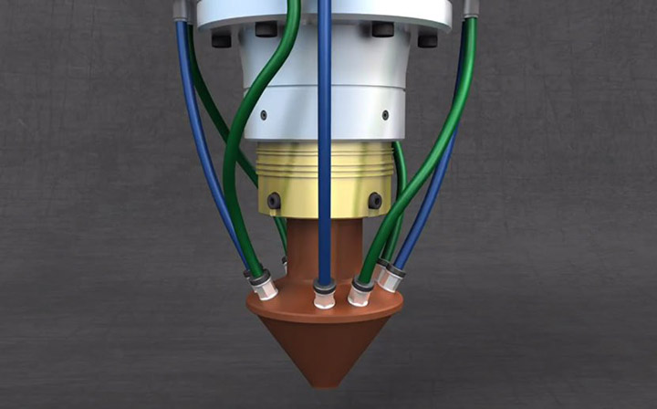 پرینت سه بعدی راکت های فضایی