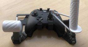 تبدیل کنترلر Xbox به کنترلر شبیه ساز پرواز با پرینت سه بعدی
