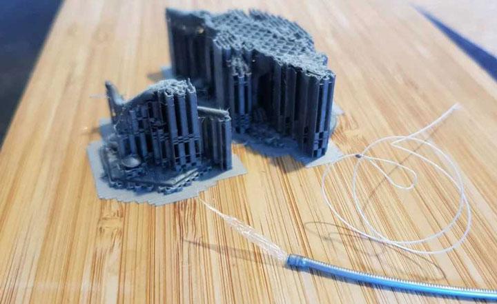 مشکل Heat Creep در پرینت سه بعدی