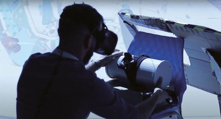 واقعیت مجازی و پرینت سه بعدی در مدرسه ی هوانوردی