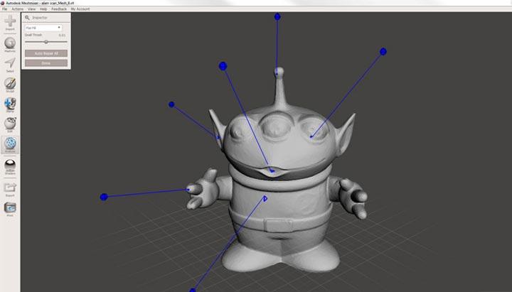 MeshMixer، نرم افزار رایگان مدلسازی 3 بعدی