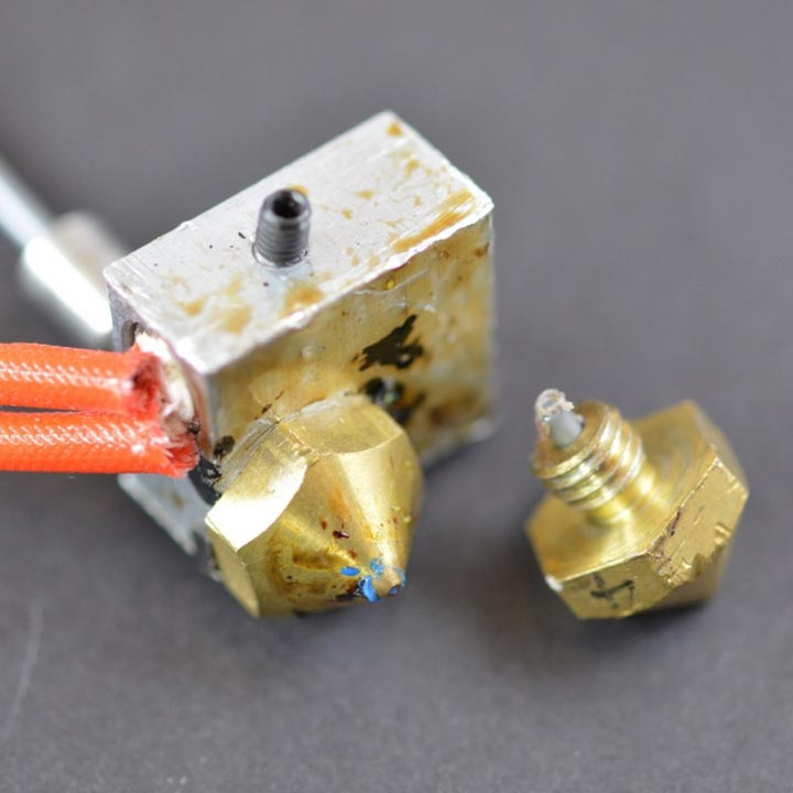 مشکل گرفتگی اکسترودر در پرینترهای سه بعدی