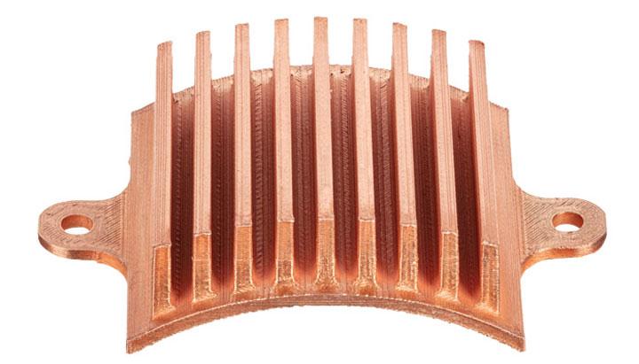 یک مبدل حرارتی پرینت سه بعدی با متریال مس خالص
