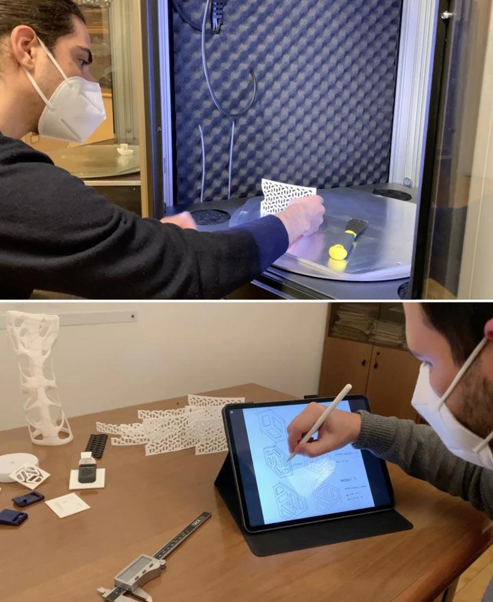 بِرِس کمر پرینت سه بعدی در درمان اسکولیوز