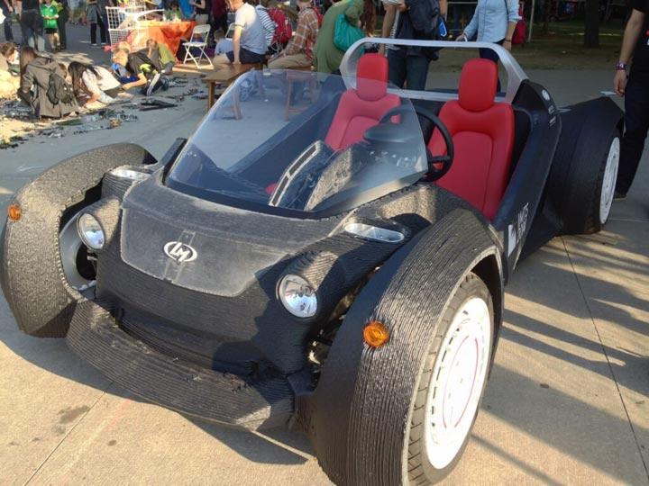 انقلاب پرینت سه بعدی در صنعت اتوموبیل سازی