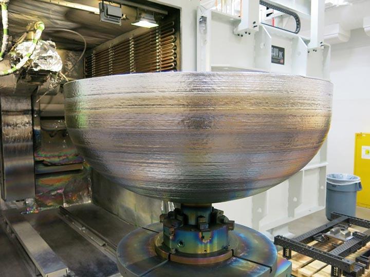 تولید سازه های بزرگ فضایی با EBM