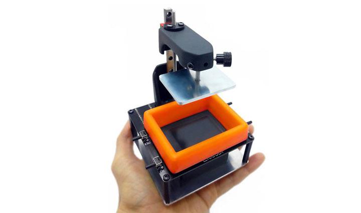 Lite3DP S1، یک میکرو پرینتر سه بعدی