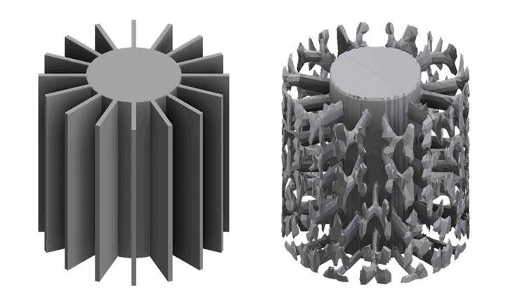بهینه سازی توپولوژیک مبدل های حرارتی