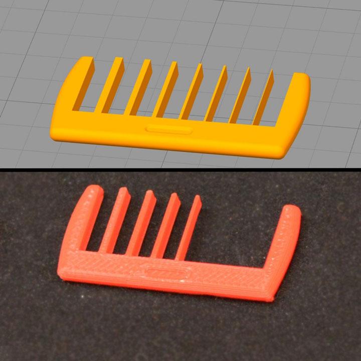 مشکل پرینت جزئیات کوچک در پرینت سه بعدی