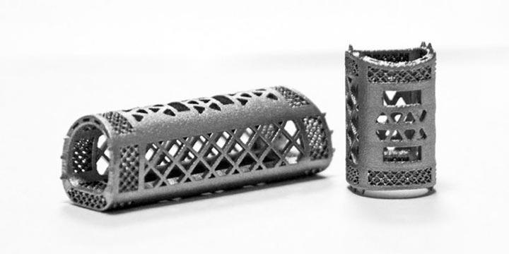 پرینت سه بعدی ستون فقرات