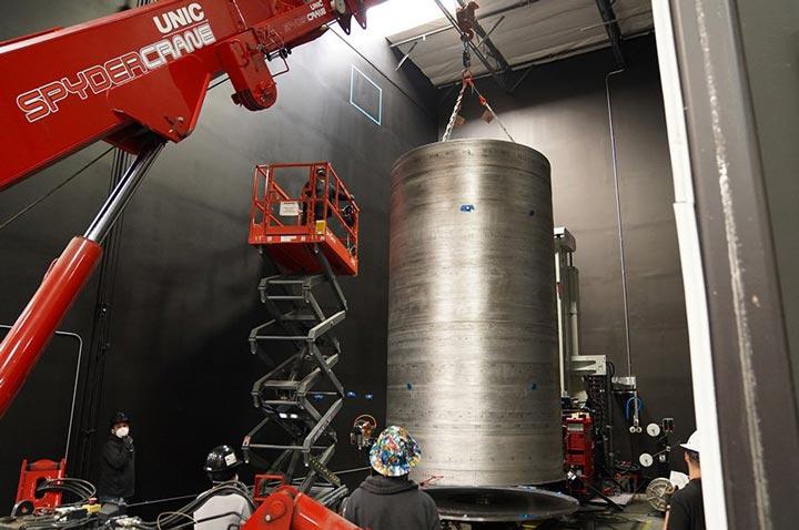 تولید موشک 20 فوتی AM فلزی