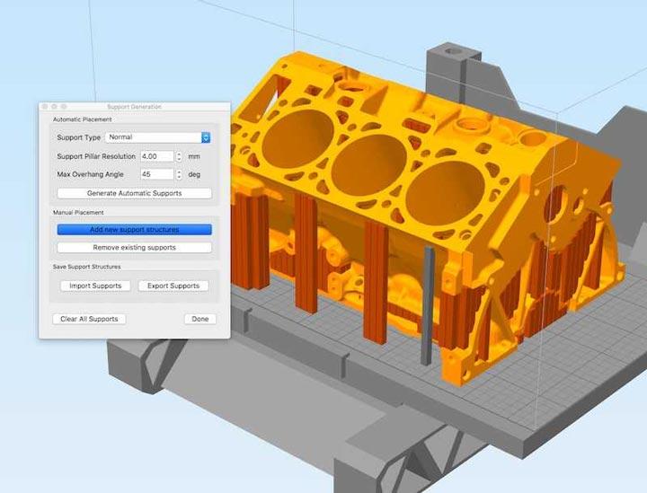 نرم افزار پرینت سه بعدی Simplify3D
