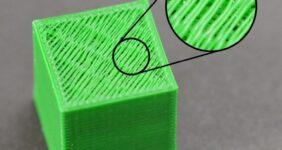 مشکل فاصله در لایه ی بالایی پرینت سه بعدی