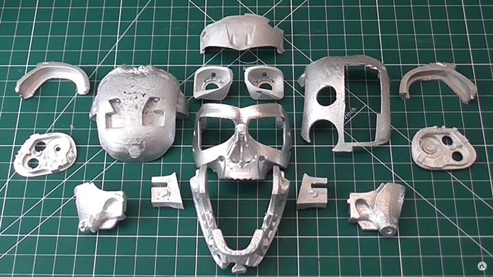قطعات فلزی حاصل ریخته گری