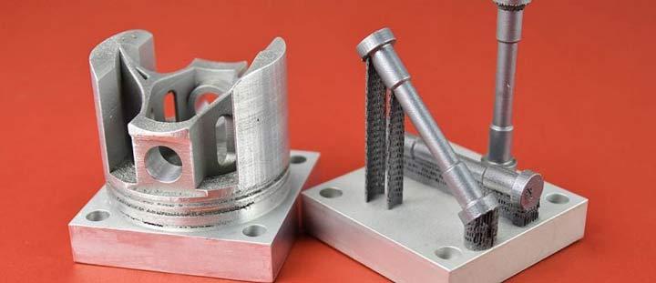 آلیاژ آلومینیوم پرینت سه بعدی HRL