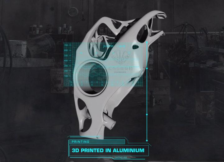 کولیس ترمز پرینت سه بعدی کمپانی Carbon Performance