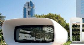 اولین ساختمان اداری پرینت سه بعدی جهان در دبی