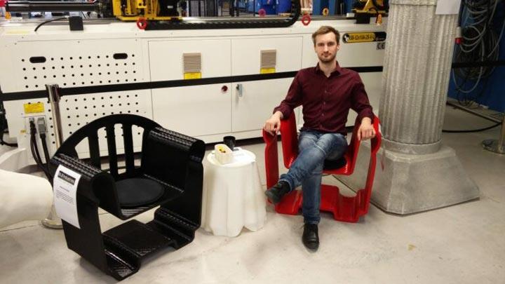 صندلی های پرینت سه بعدی BLB