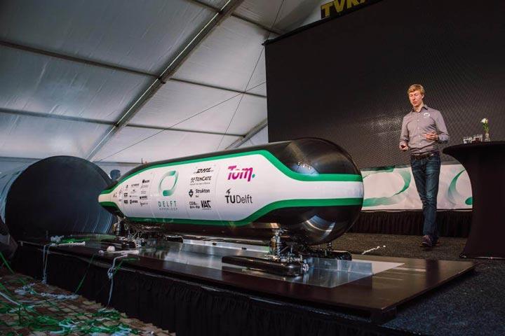 پرینت سه بعدی در ساخت Hyperloop Pod