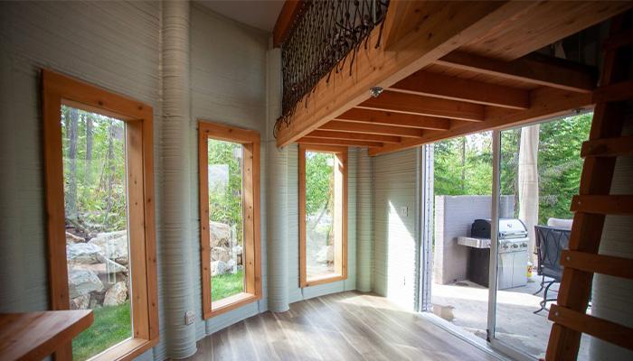 خانه ی پرینت سه بعدی در Airbnb