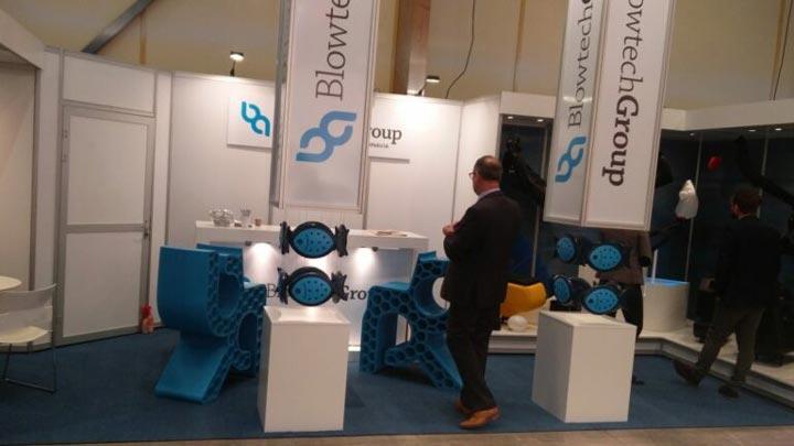 صندلی های پرینت سه بعدی BLB برای Blowtech AB