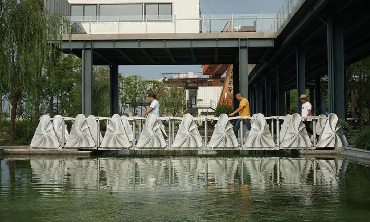 پل های پرینت سه بعدی-پل غلتان چین
