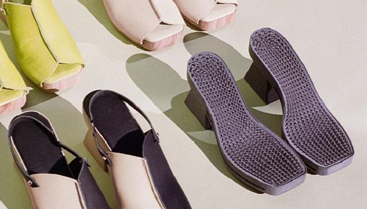 کفش های پاشنه دار پرینت سه بعدی