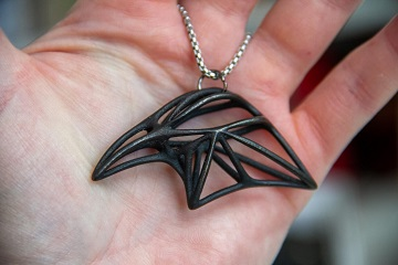 زیورآلات پرینت سه بعدی فلزی