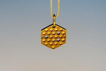 زیورآلات پرینت سه بعدی فلزی-Honey
