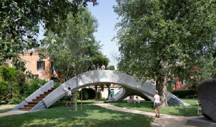 Striatus، اولین پل پرینت سه بعدی از بتن غیر مسلح