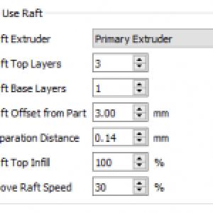 Skirt ،Raft و Brim در پرینت سه بعدی - تنظیمات قایق