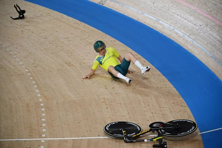 شکست دسته فرمان پرینت سه بعدی دوچرخه در مسابقات المپیک