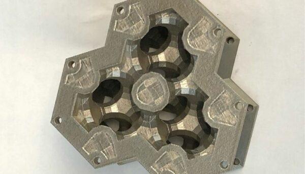 طرح پیشنهادی GE برای مبدل حرارتی پرینت سه بعدی