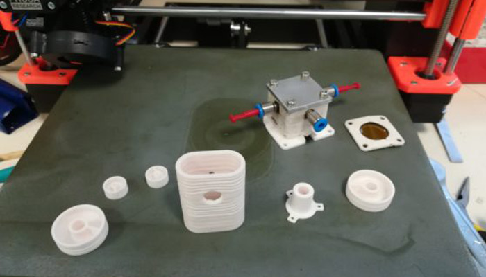 ابزارهای پرینت سه بعدی سرامیکی ESRF