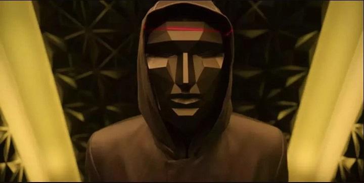 ماسک های پرینت سه بعدی سریال بازی مرکب